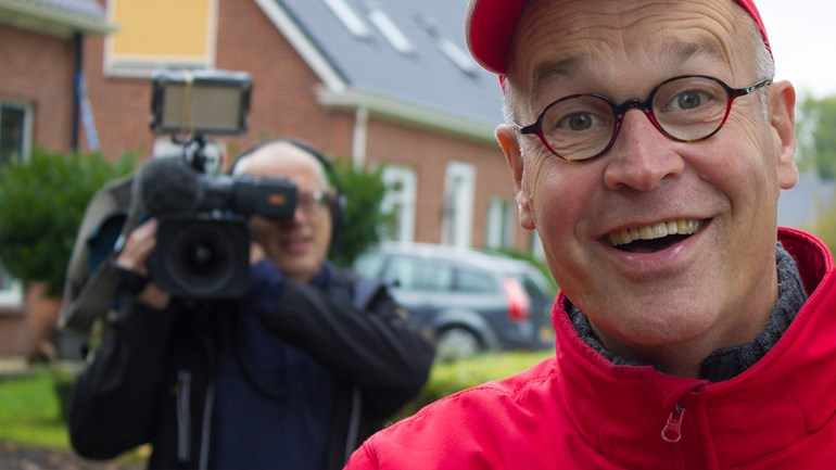 Harm Dijkstra in Hesseln Strunen RTV Drenthe