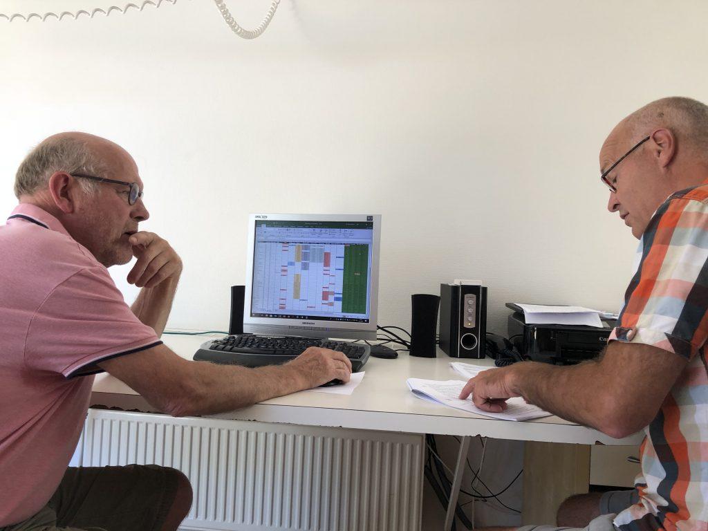 Zomerklus Harm Dijkstra en Jan Kruimink, rolverdeling