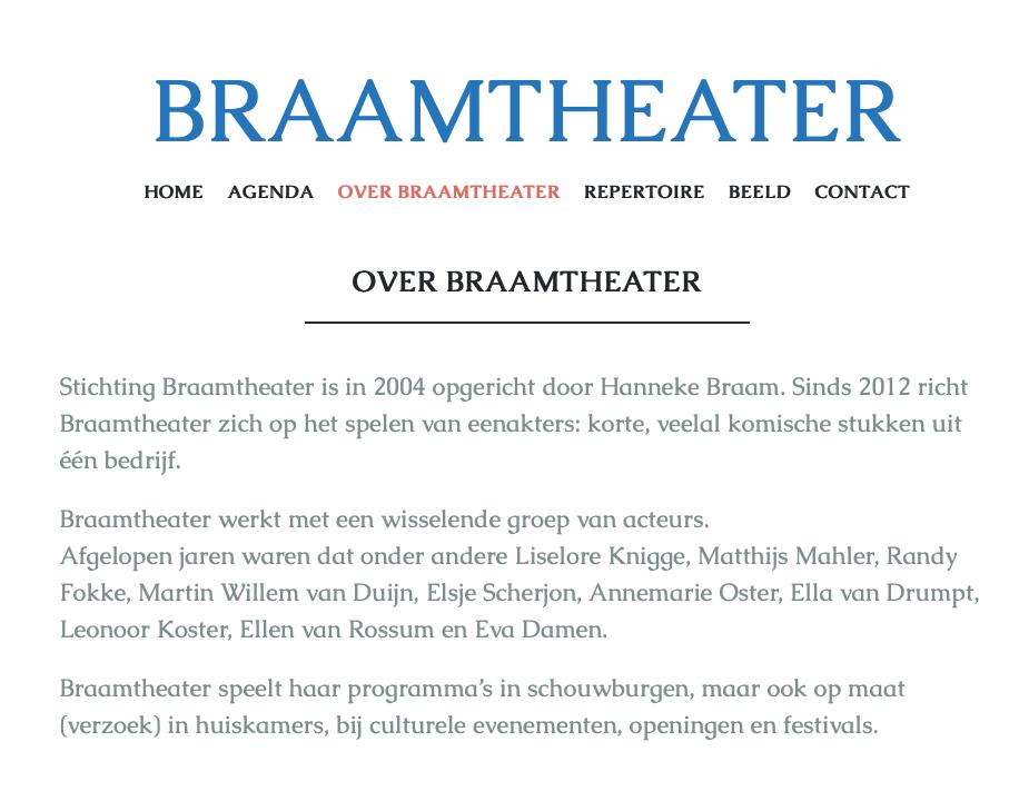 Hanneke Braam van Braamtheater regierol bij de Toorn van Thunaer