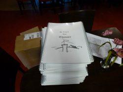 Het script in boekvorm voor alle spelers een exemplaar