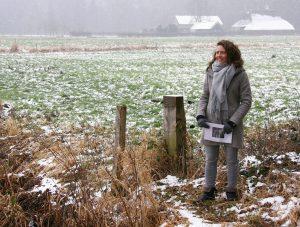 Wijnanda Hulsegge op het speelterrein