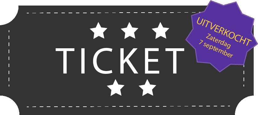 Tickets voor voorstelling zaterdag uitverkocht