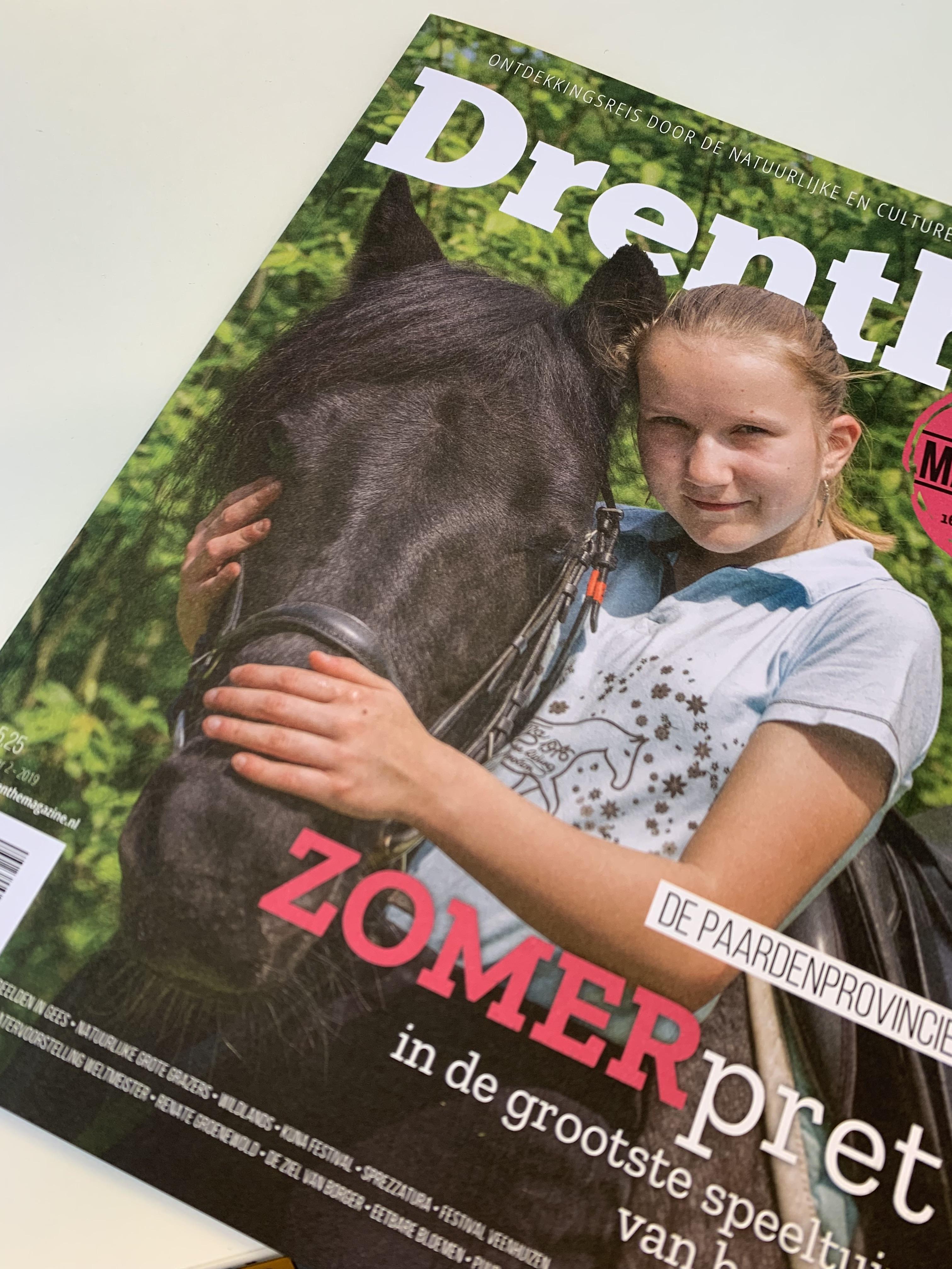 Voorpagina Drenthe Magazine