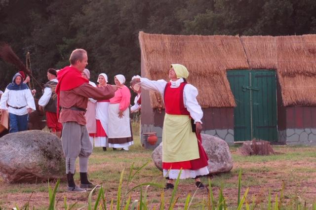 Jan Katerberg als boer Derk met Els