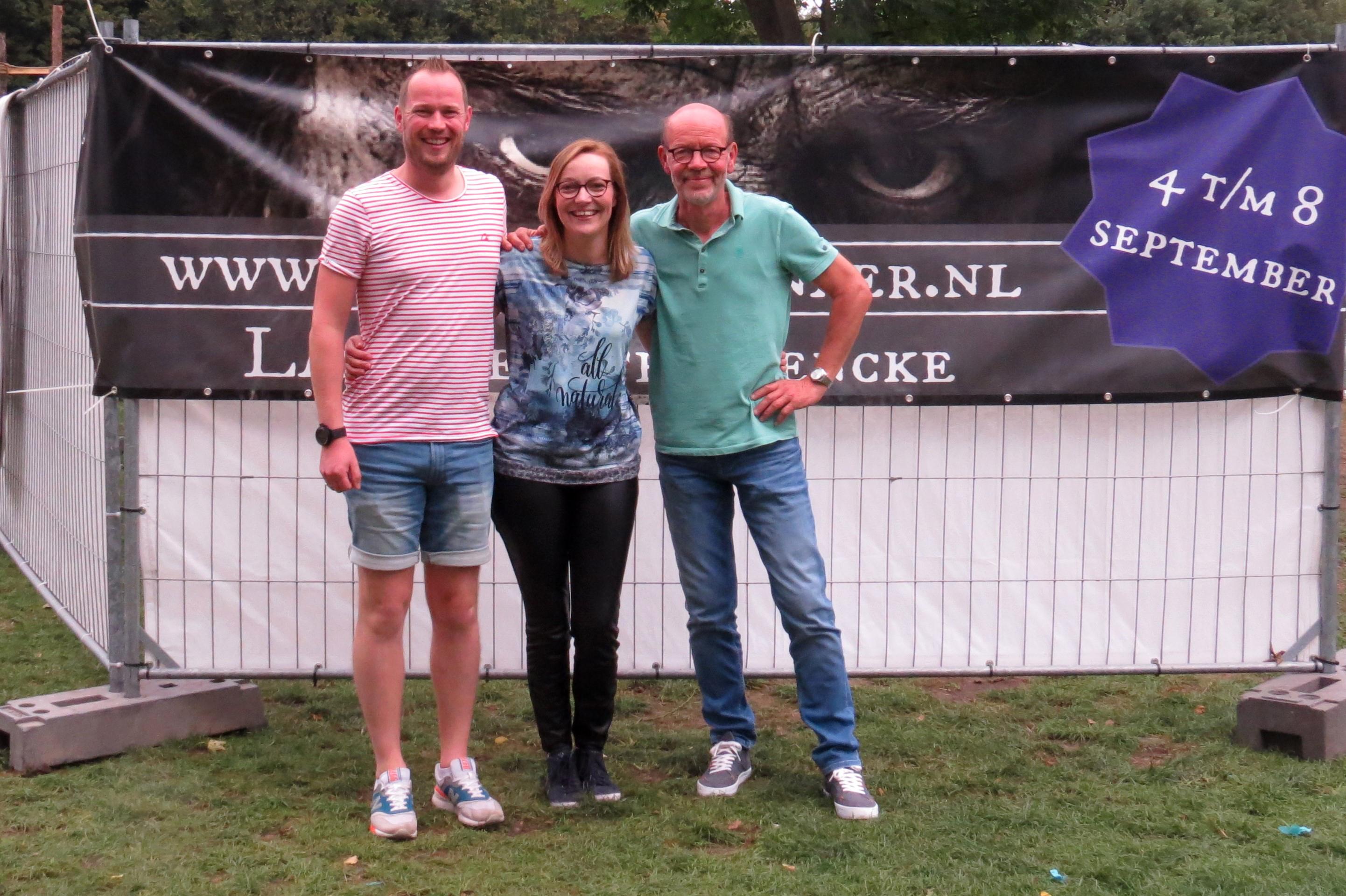 Mark, Annemiek en Herman Meijer, drie deelnemers uit een gezin