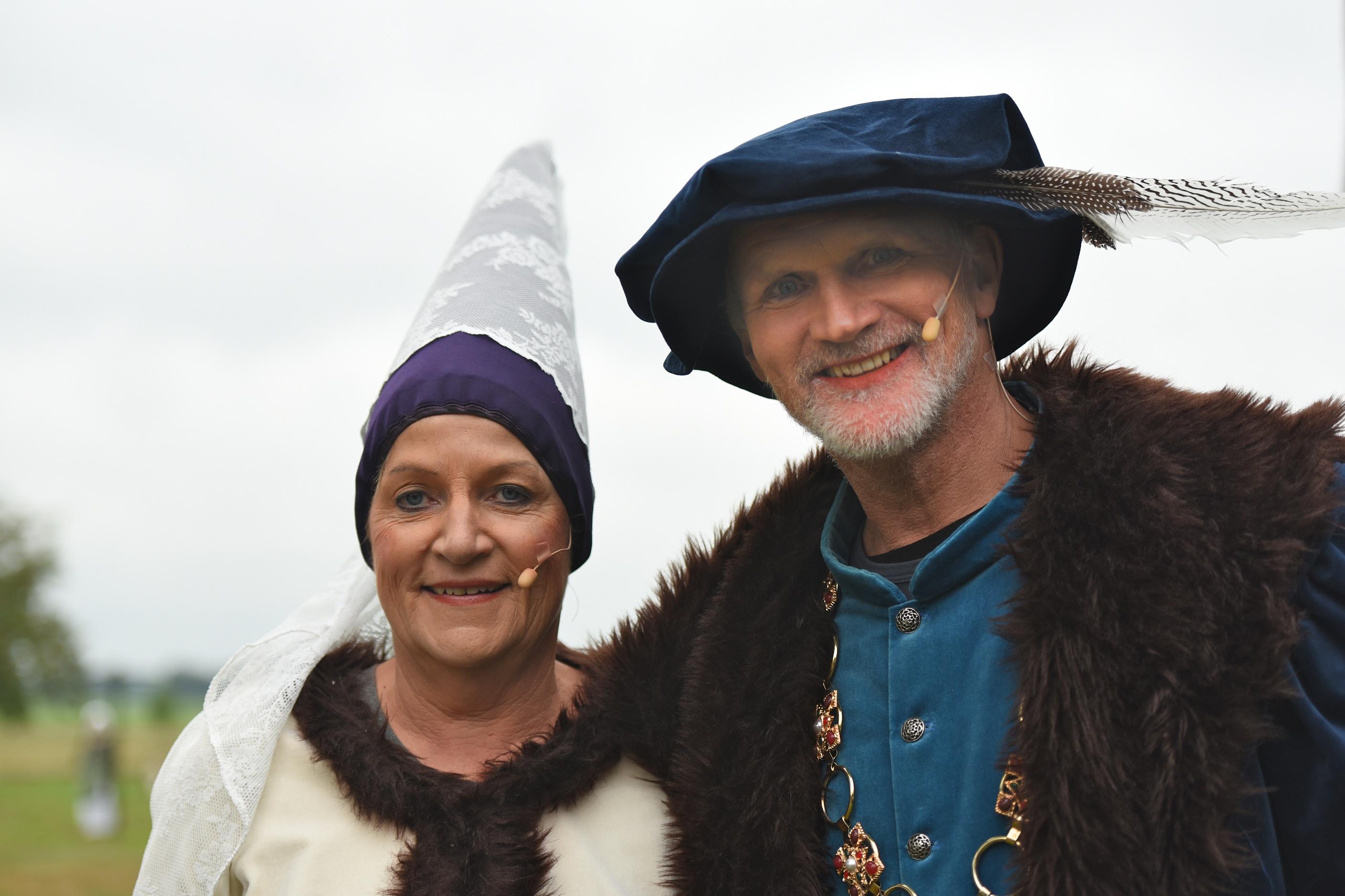 Heer Harmannus en Vrouwe Anna